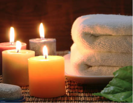 spa-towels-candles